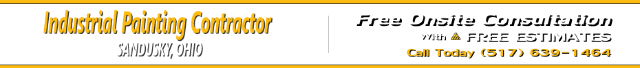 Commercial Industrial Painting Contractor Sandusky Ohio - Click or Tap to Call